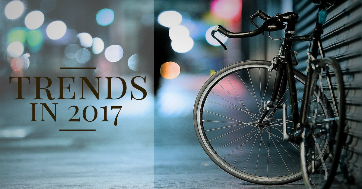 Bike trends in 2017